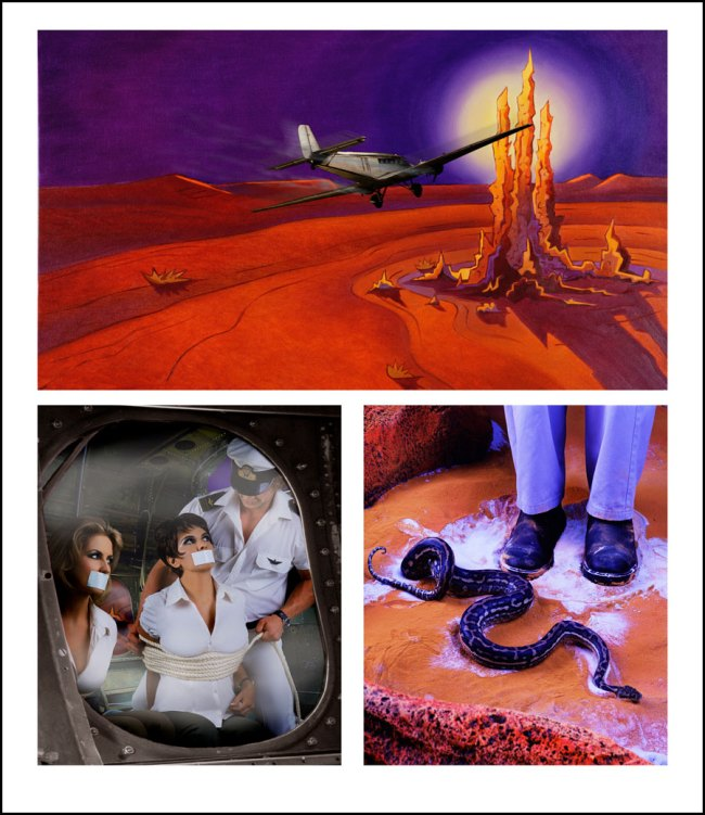 Tracey Moffatt Australia, 1960. 'Adventure Series (no. 1)' 2004