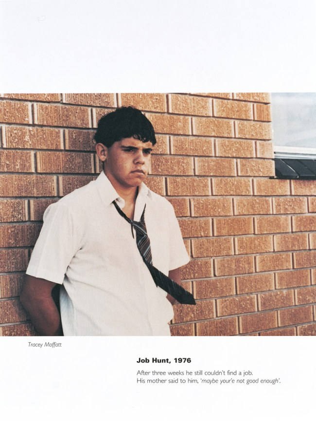 Tracey Moffatt Australia, 1960. 'Job hunt, 1976' 1994