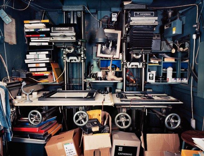 Richard Nicholson. 'Roy Snell darkroom, Earlsfield' 2006