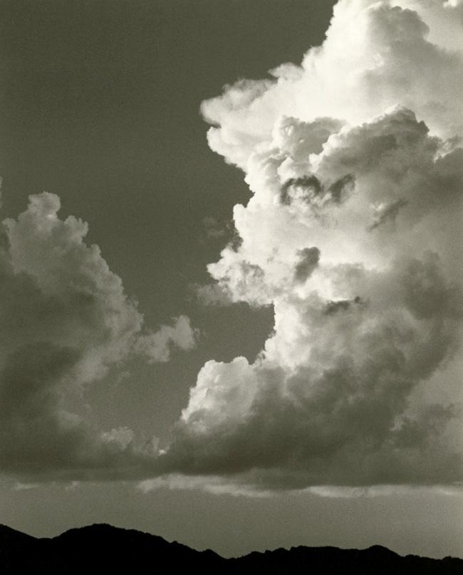 Dorothea Lange. 'Sky and Clouds, Gunlock, Utah' 1953