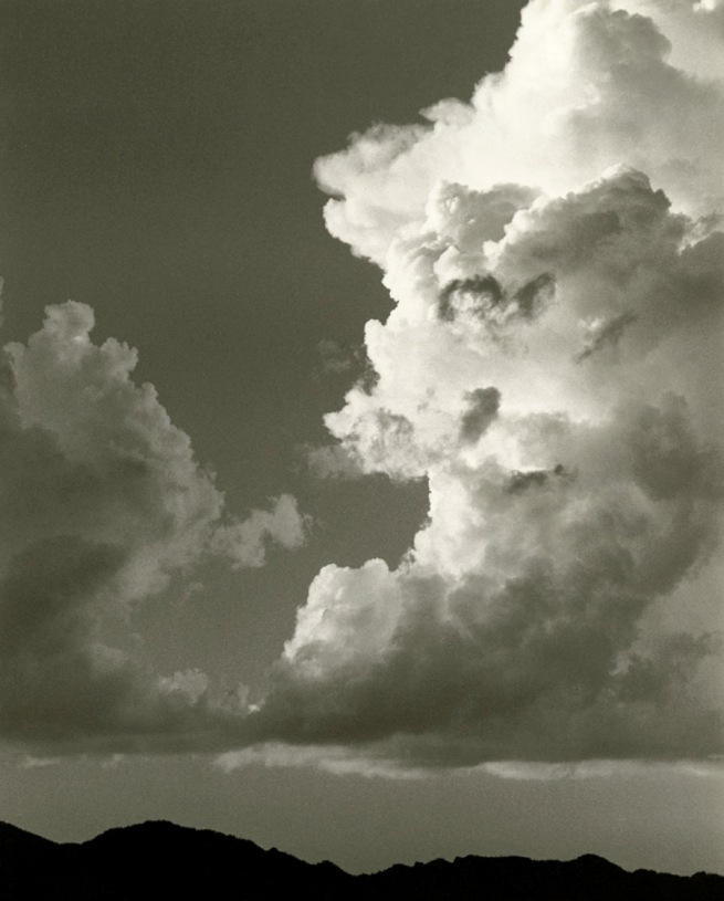 Dorothea Lange. 'Sky and Clouds, Gunlock, Utah' 1953