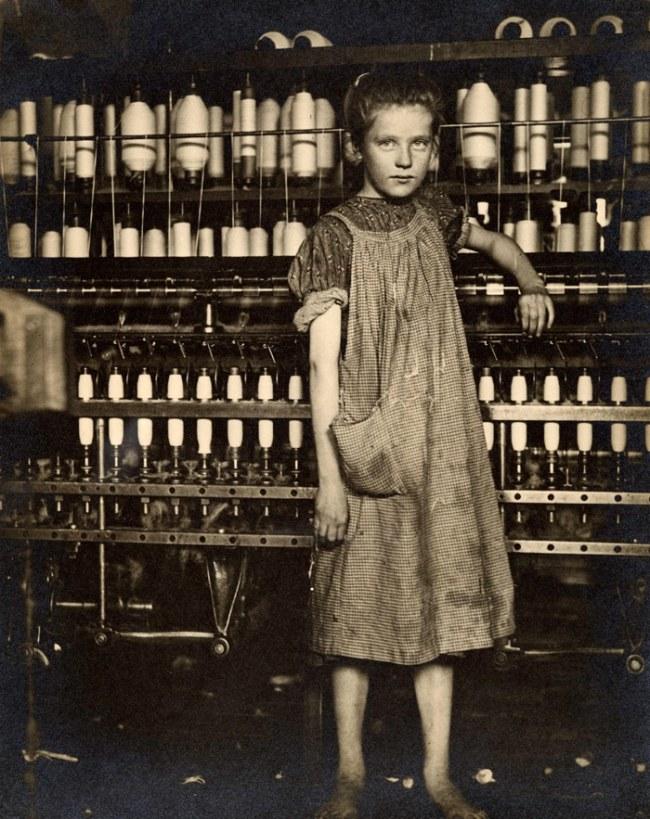 Lewis Hine (American, 1874-1940) 'Addie Card, 12 years' 1910