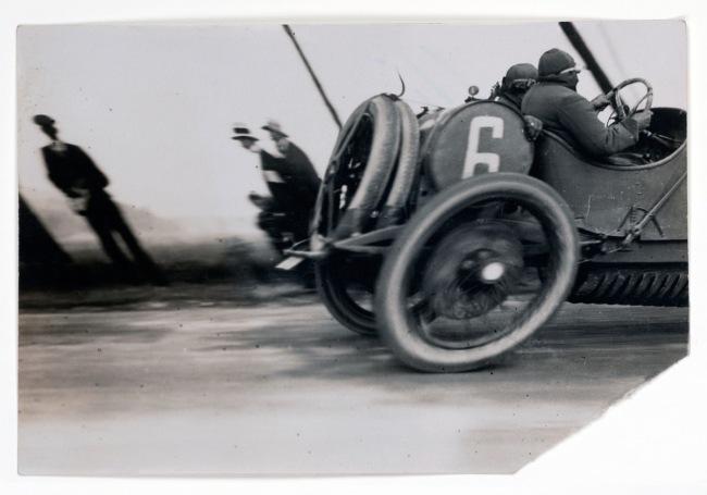 Jacques Henri Lartigue (French, 1894-1986) 'Le Grand Prix A.C.F.' 1913
