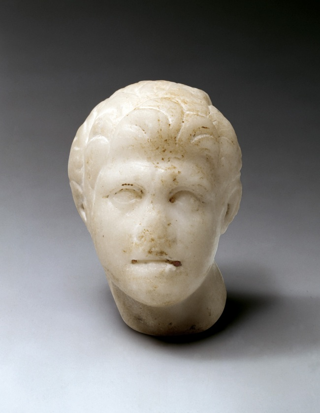 Head of Alexander (fragment of a figure) 175-150 BC