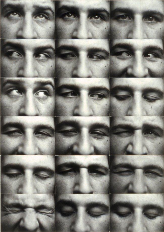 Kurt Kranz. 'Augenreihe' (Eye rows) 1931