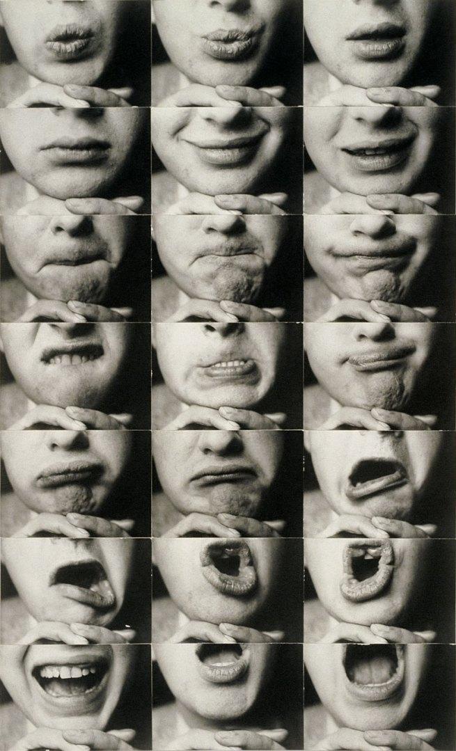Kurt Kranz. 'Mund-Reihen' (Mouth rows) 1931