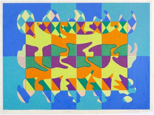 Kurt Kranz. 'Persischer Garten' (Persian garden) 1970