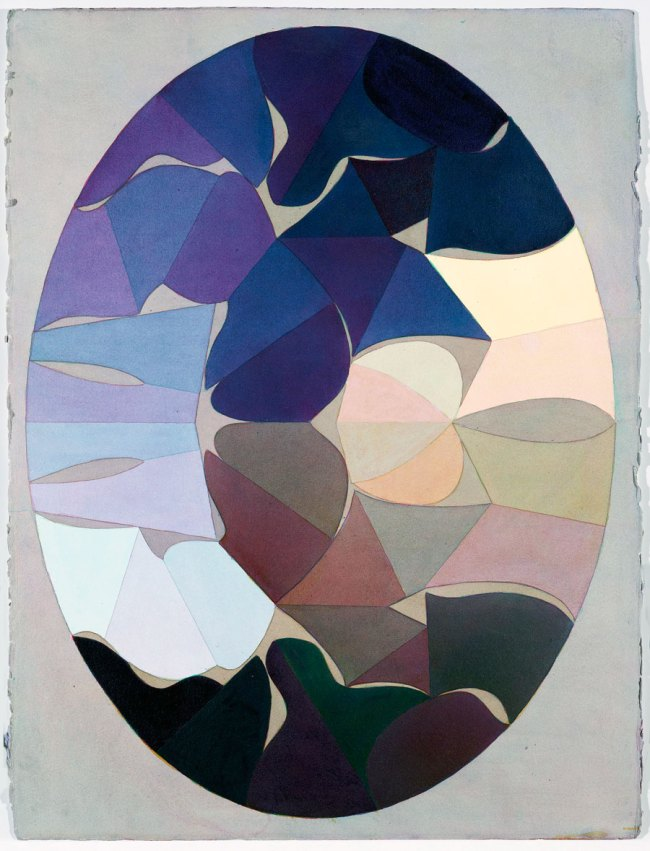 "Kurt Kranz. Aus der Serie ""Sieben Schritte zum symmetrischen Oval""' (From the series ""Seven steps to the symmetrical Oval"") 1982"
