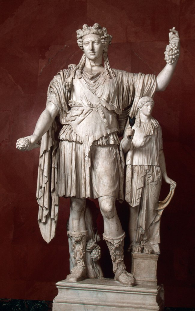 Figure of Bacchus/Dionysus Late 4th-early 3rd century BC