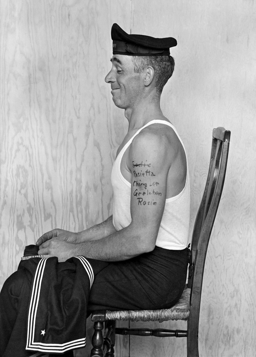 Norman rockwell going and coming art blart for Norman rockwell tattoo