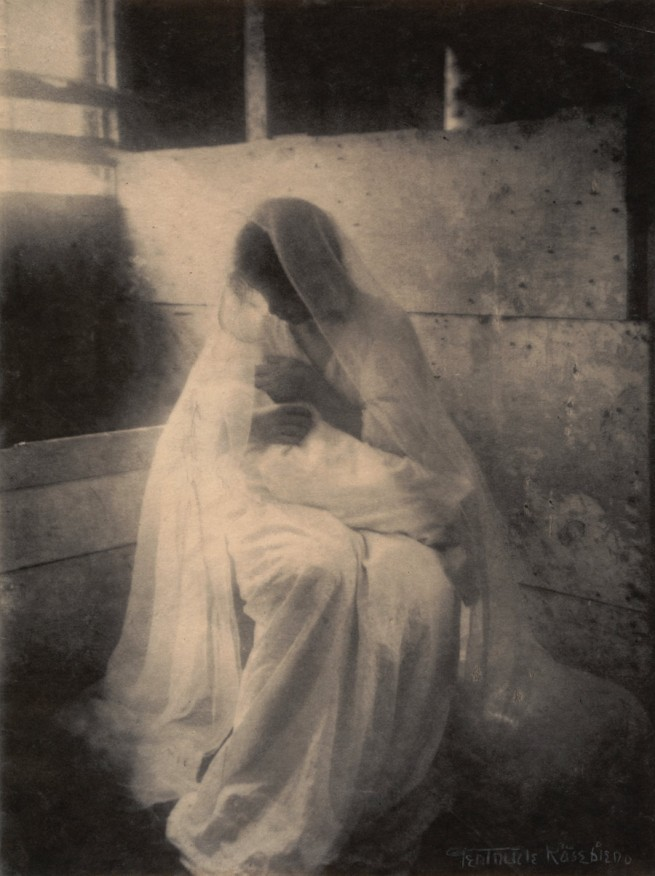 Gertrude Käsebier (American, 1852-1934) 'The Manger' 1899