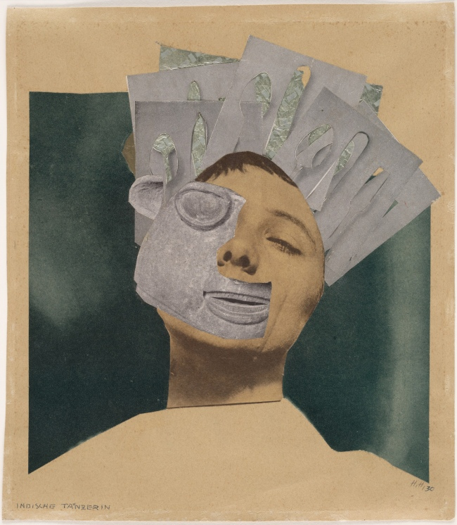 Hannah Höch (German, 1889-1978) 'Indian Dancer: From an Ethnographic Museum' 1930