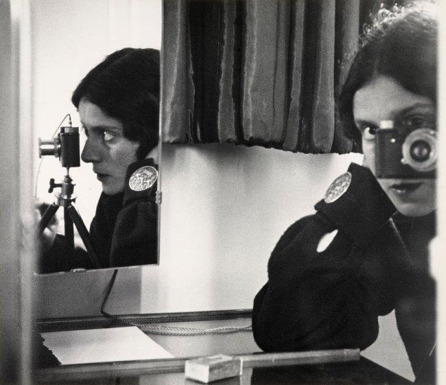 Ilse Bing (American, born Germany, 1899-1998) 'Self-Portrait in Mirrors' Paris, 1931