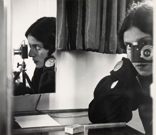 Ilse Bing (American, born Germany. 1899-1998) 'Self-Portrait in Mirrors' 1931