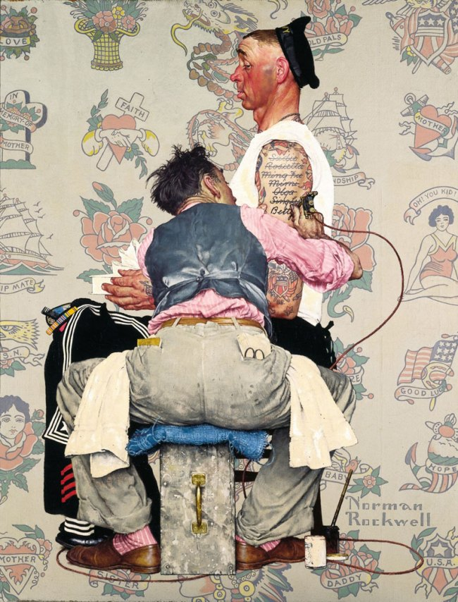 Norman Rockwell (American, 1894-1978)