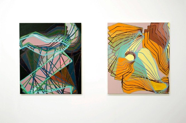 Bryan Spier. 'Shadowmath' 2010 (and) 'New descending' 2010
