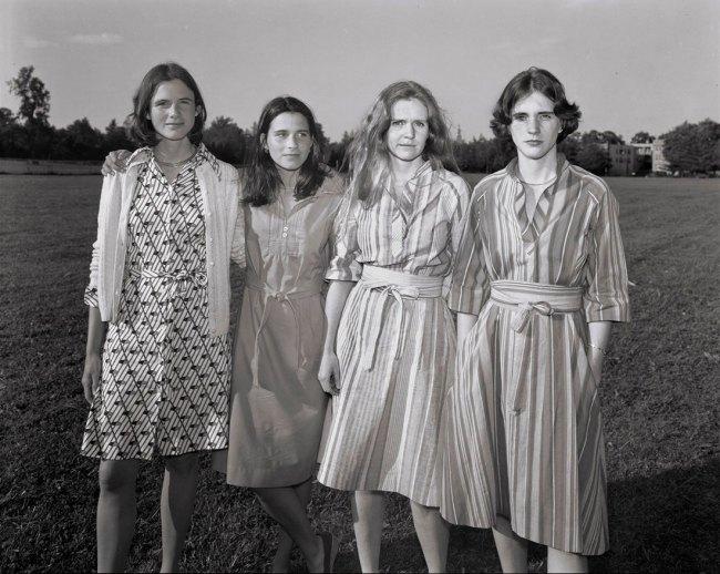 Nicholas Nixon (American, born in 1947). 'The Brown Sisters' 1976