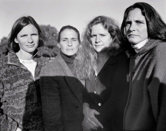 Nicholas Nixon (American, born in 1947). 'The Brown Sisters' 1996