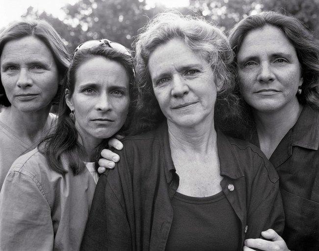 Nicholas Nixon (American, born in 1947). 'The Brown Sisters' 1999