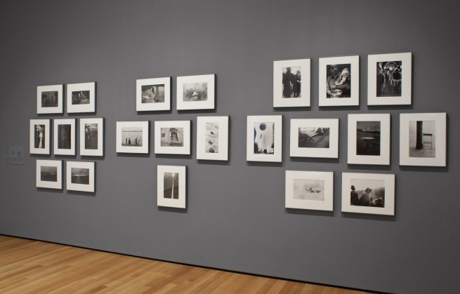"""Installation view of the exhibition, """"Abstract Expressionist New York: Rock Paper Scissors"""""""