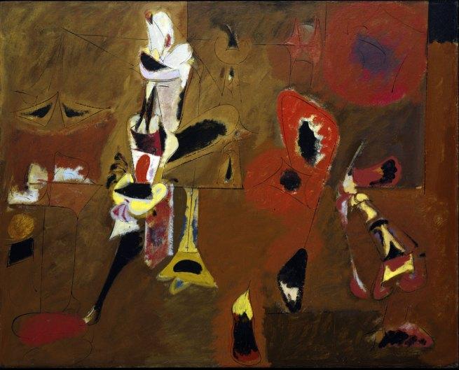 Arshile Gorky (American, born Armenia, 1904-1948) 'Agony' 1947