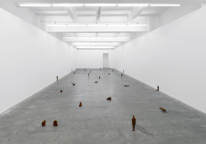 Anthony Gormley. 'MEMES' 2011 installation view, Anna Schwartz Gallery, Melbourne Photograph by Tim Griffith. Courtesy the artist and Anna Schwartz Gallery Melbourne and Sydney