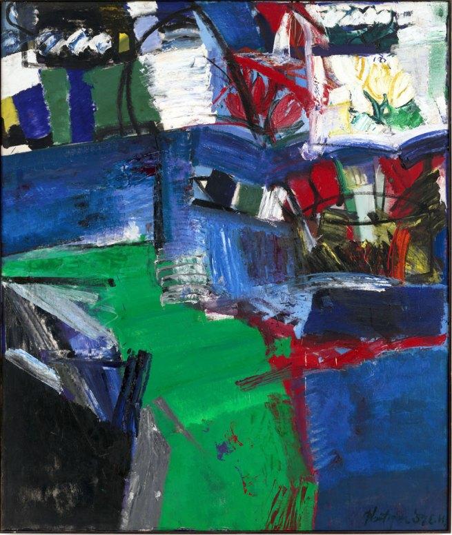 Grace Hartigan (American, 1922-2008). 'Shinnecock Canal' 1957