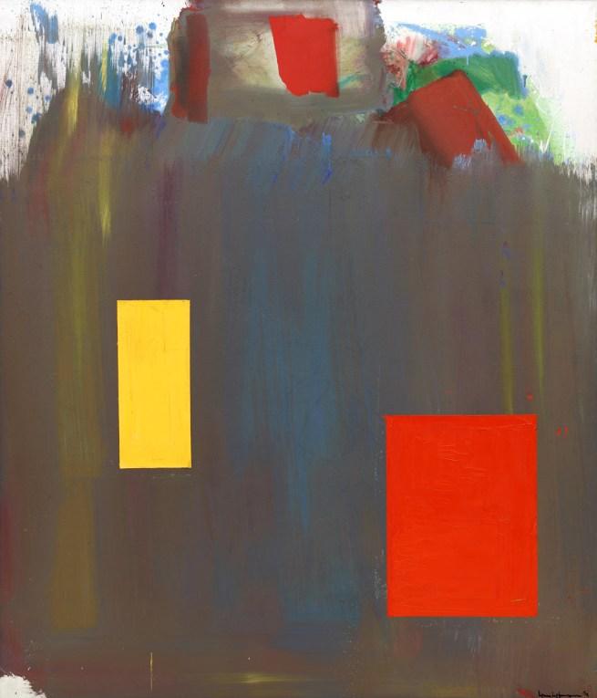 Hans Hofmann (American, born Germany, 1880-1966). 'Memoria in Aeternum' 1962