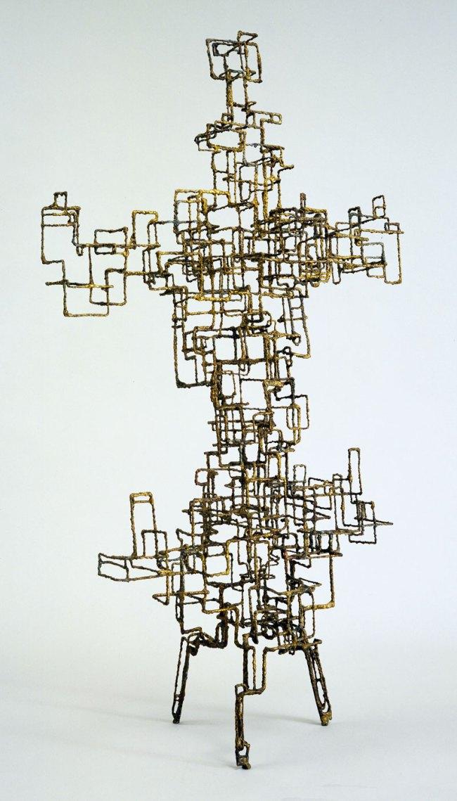 Ibram Lassaw (American, born Egypt. 1913-2003). 'Kwannon' 1952