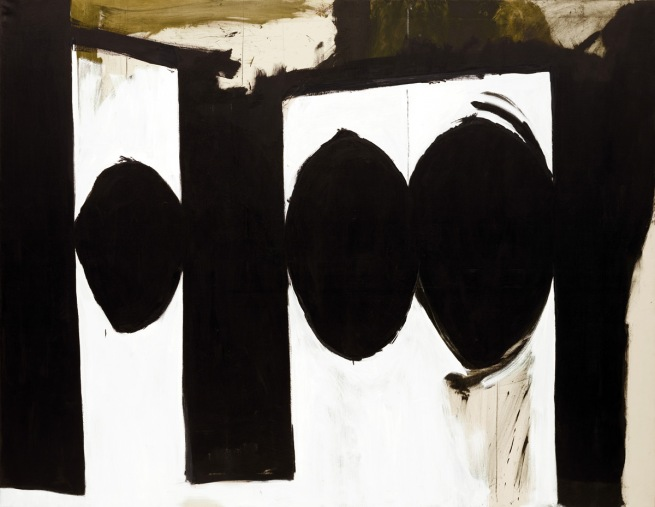 Robert Motherwell (American, 1915-1991). 'Elegy to the Spanish Republic, 54' 1957-61