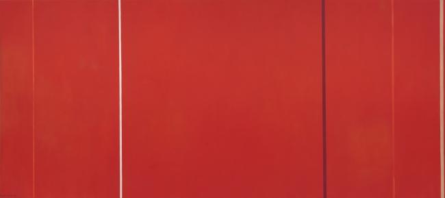 Barnett Newman (American, 1905-1970) 'Vir Heroicus Sublimis' 1950-51