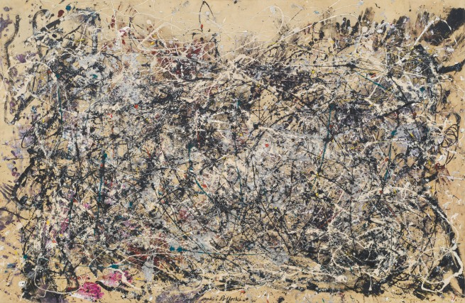 Jackson Pollock (American, 1912-1956) 'Number 1A, 1948' 1948