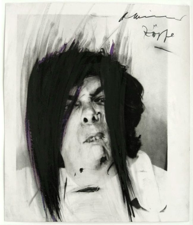 Arnulf Rainer. 'Braids' 1966