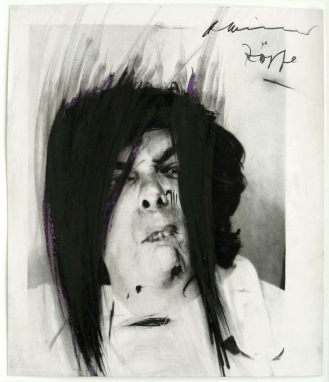 Arnulf Rainer. 'Braids' 1966