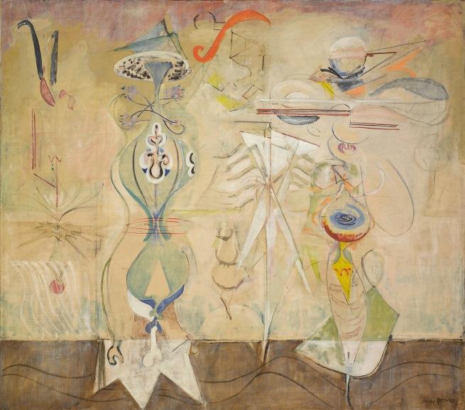 Mark Rothko (American, born Latvia. 1903-1970) 'Slow Swirl at the Edge of the Sea' 1944