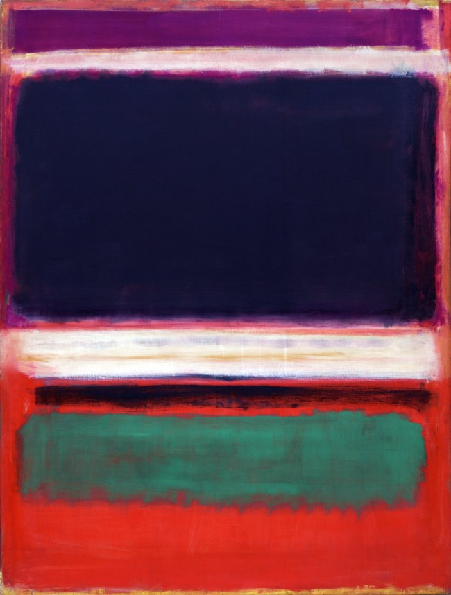 Mark Rothko (American, born Latvia. 1903-1970). 'No. 3/No. 13' 1949