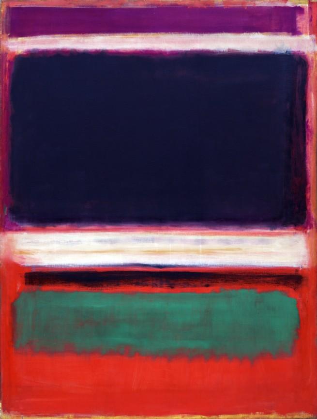 Mark Rothko (American, born Latvia. 1903-1970). 'No. 3/No. 13' 1949