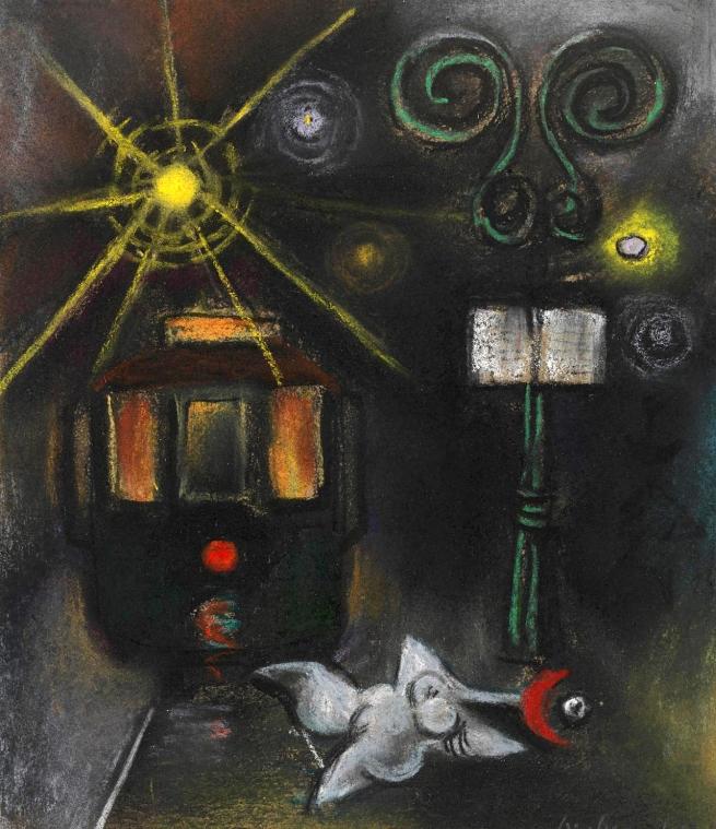 Albert Tucker(Australian, 1914-1999) 'Image of Modern Evil' 1945