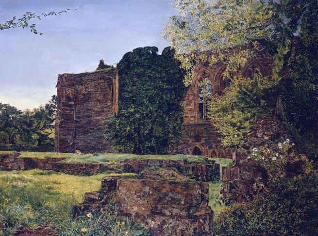 John William Inchbold. 'La Chapelle de Bolton Abbey' 1853