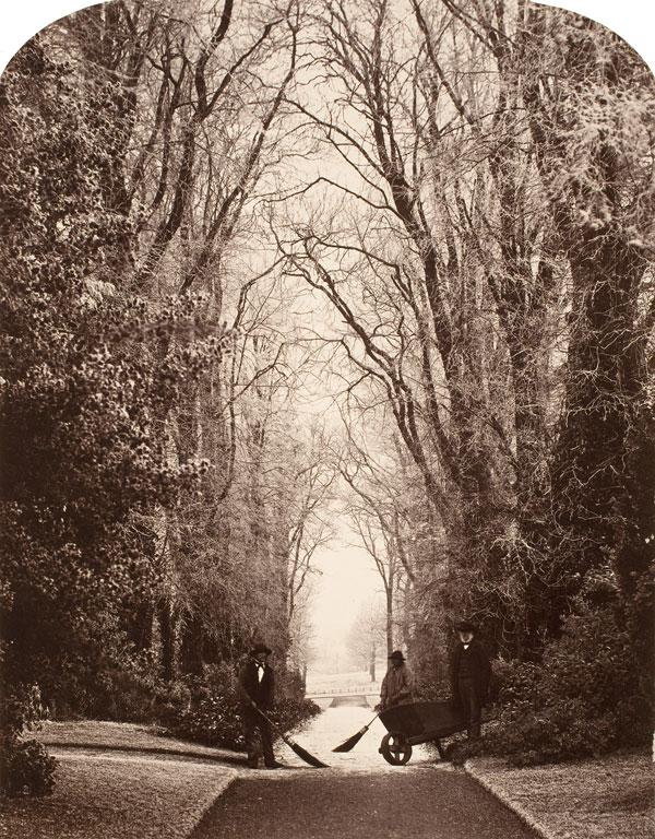 James Sinclair 14th Earl of Caithness. 'Weston Avenue, Warwickshire' c. 1860