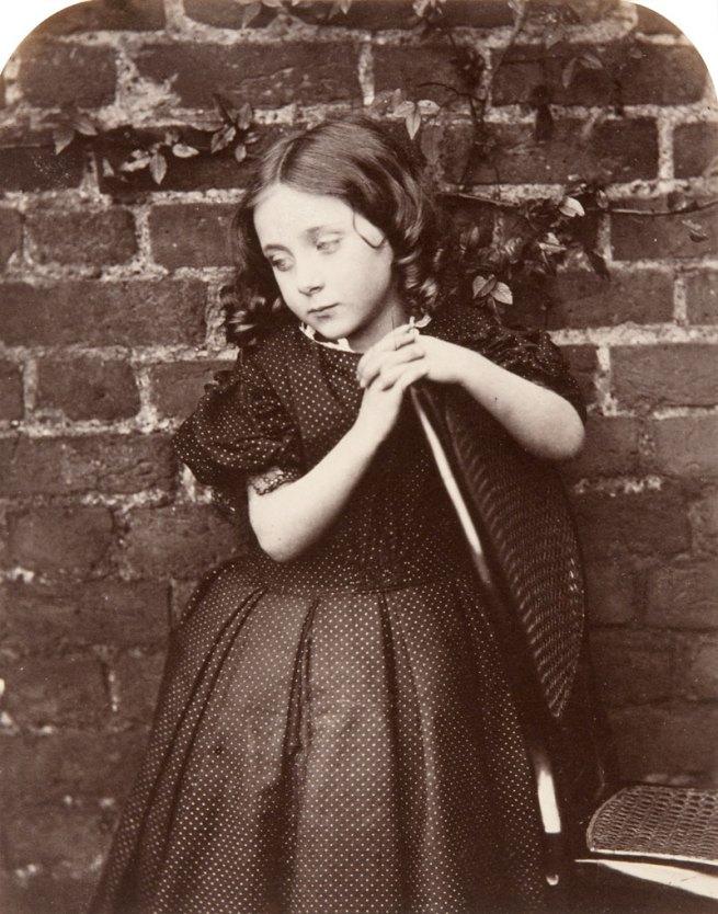 Charles Lutwidge Dodgson (Lewis Caroll). 'Amy Hughes' 1863