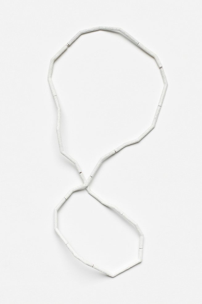Kirsten Haydon. 'ice movement' neckpiece 2011