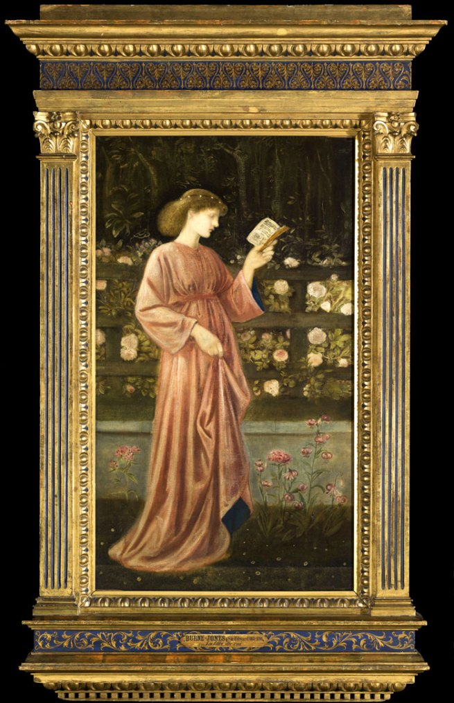 Sir Edward Burne-Jones. 'Princess Sabra (The King's Daughter)' 1865-1866