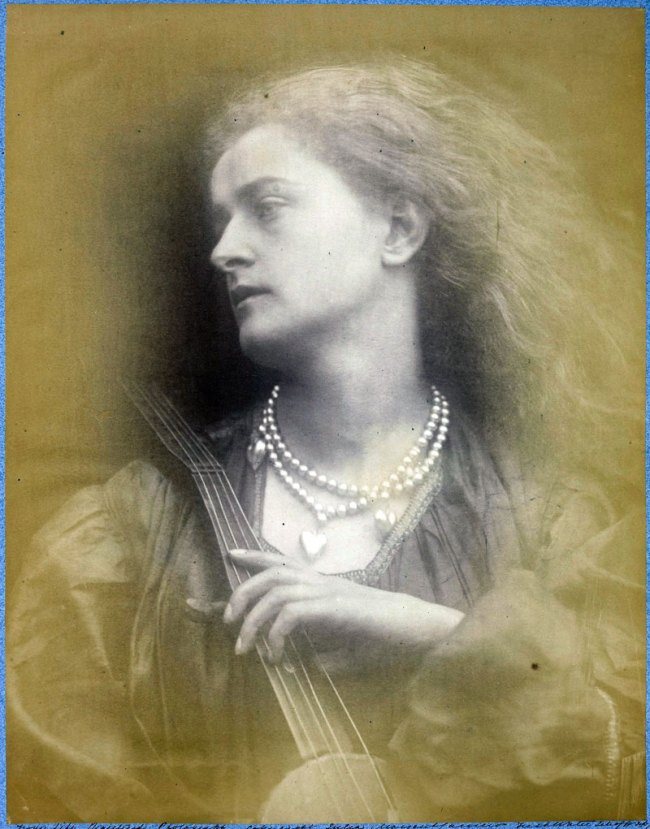 Julia Margaret Cameron. 'And Enid Sang' 1874