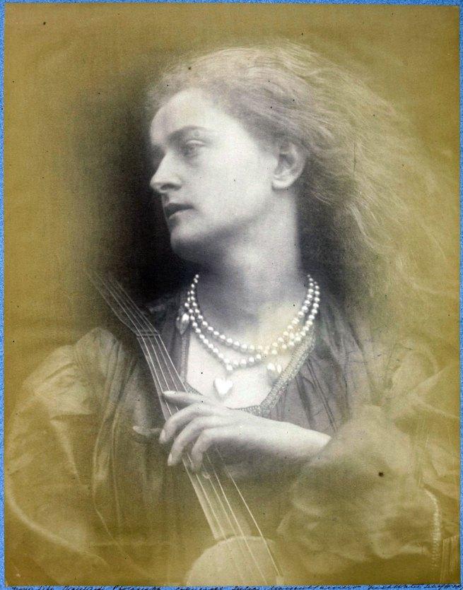 Julia Margaret Cameron. 'And Enid Sang' 1874