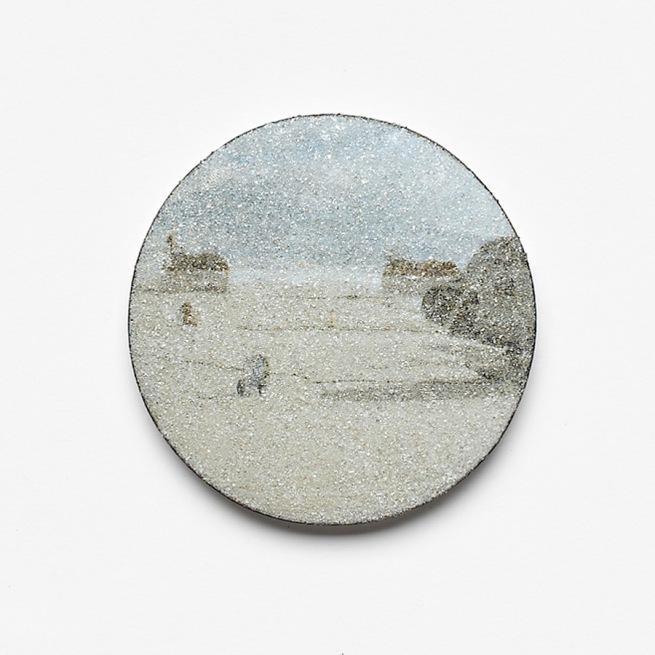Kirsten Haydon. 'ice plane', brooch, 2011
