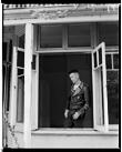 Marcus Bunyan. 'Marcus in his Punk Jacket, Punt Road, South Yarra' 1991-92