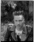 Marcus Bunyan. 'Self-portrait in Punk Jacket' 1991-92