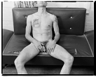 Marcus Bunyan. 'Nude on Couch, Punt Road, South Yarra' 1992