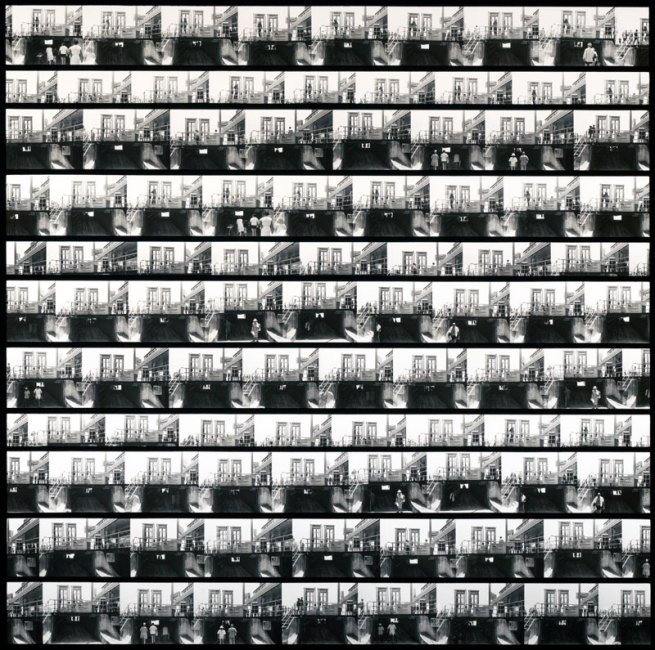 Ray K. Metzker. 'Composite: Atlantic City' 1966